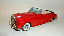 "1950'S Rolls Royce Silver Cloud Convertible 11 3/4"" By Bandai Of Japan"