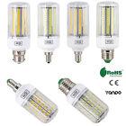 E27 E14 E12 B22 LED Corn Bulb 5730 SMD Light Corn Lamp Incandescent 20W - 160W
