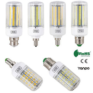 LED Corn Bulb E27 E14 B22 5730 SMD AC 220V Light Lamp Incandescent 20W - 160W