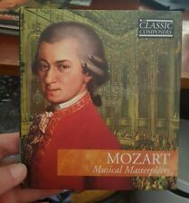 Mozart Musical Masterpieces - Booklet & MUSIC CD - FREE POST