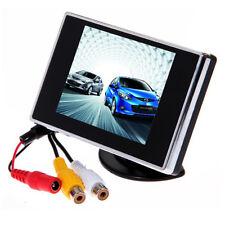 3.5 Inch TFT LCD Screen Monitor Reverse Camera Display Car Rear View Backup 12V