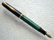 Pelikan M400 (Old Style) Grün-Gestreift | Zustand: near mint!! | ~1983/90
