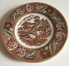Vintage Wood & Sons Woodland Side Tea Plate
