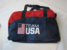 Team USA Olympic Promotional Products RARE navy canvas PDA1077 sport bag NEW