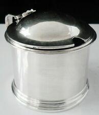 Antique Silver Mustard Pot, William Robert Smily, London 1852