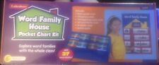 Lakeshore Word Family House Pocket Chart Kit, New