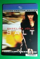 SALT ANGELINA JOLIE BLURAY STYLE COVER ART MINI POSTER BACKER CARD (NOT a movie)