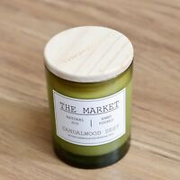 Scentsational Natural Soy Candle 11oz The Market Collection -- Sandalwood Zest
