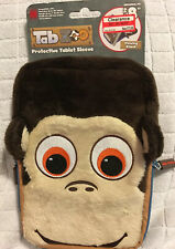 """Tab Zoo Monkey Universal Tablet IPad Up To """"8 Case Cover Protect Bags Brown New"""
