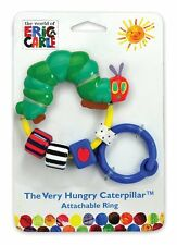 La molto affamati Caterpillar collegabile Anello con Sonagli Bambino Giocattolo