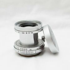 Leica 50mm Elmar f2.8 Chrome Collapsible Screwmount LTM LENS READ