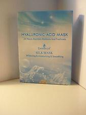 Hyaluron Seidenmaske (Vlies) 5 Stück -Anti-Aging