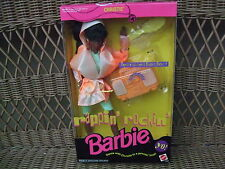 Rappin 'Rockin' Christie AA  Working Boom Box 1991 Mattel NRFB MIB
