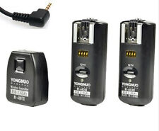 RF-602 Flash Trigger with 2 Receivers for Canon 650D 60D 550D 600D 450D 1100D