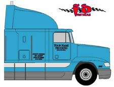 SEMI TRUCK LETTERING & NUMBER DECALS - FREE SHIPPING