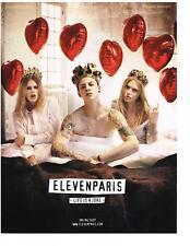 """PUBLICITE ADVERTISING  2011   ELEVEN PARIS   """" LIFE IS A JOKE"""""""