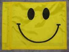 Custom Smiley Face Safety Flag for  ATV DirtBike JEEP Dune Pole Whip