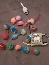 Cat toys , assorted new, without tags Freepost U.K