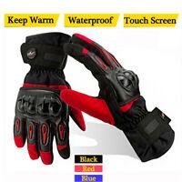 FXC Best Waterproof Thermal Warm Winter Protection  Motorcycle Motorbike Gloves