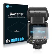 6x Displayschutzfolie für Nikon SB-5000 Schutzfolie Klar Folie Displayfolie