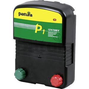Patura Multi-Voltage Electric Fence Energisers for 230 Volt + 12 Volt