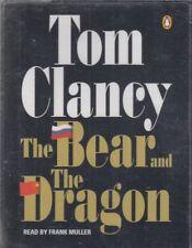 Tom Clancy The Bear And Dragon 4 Cassette Audio Book NEW* Abridged Jack Ryan