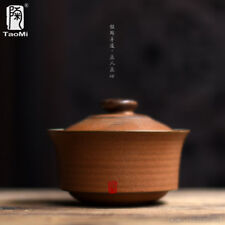 Tea Horse Road Pottery Bowl Kung Fu Tea Gaiwan Cup 150ml 5.07oz