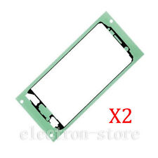 2X  Samsung Galaxy S6  G920F Front LCD Touch Screen Adhesive Glue Tape Sticker
