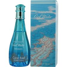 Cool Water Coral Reef by Davidoff EDT Spray 3.4 oz Limited Edition