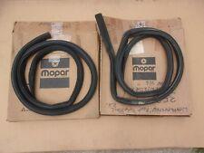 NOS Mopar 1973 74 75 76 Dart Swinger Scamp Pair of Roof Rail Weatherstrips