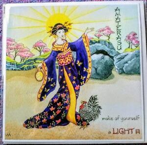 Wendy Andrew Japanese Goddess Birthday card Shining Heaven celebrate life yule