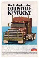 FORD LOUISVILLE KENTUCKY TRUCK TIN SIGN  80x53cm. XLARGE  FORD  LOUISVILLE SIGN