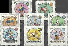 Timbres Sports Football Mongolie 1173/80 ** lot 9875