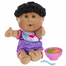 Cabbage Patch Kids African American Girl Fun to Feed Babies Doll, Black Hair, Br