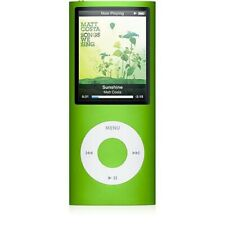 Apple iPod Nano 4th Gen 8 GB Green Model 1285 -  Genuine Charger & 30pin Cable