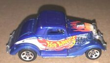 1979 Hot Wheels Ford Coupe Blue With Flames