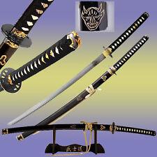 Kill Bill DEMON Sword Bill's Replica 1045 HC Steel SHARP Japanese Samurai Katana