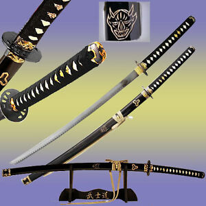 Kill Bill DEMON Sword Bill's Replica Steel Blade Japanese Samurai Display Katana