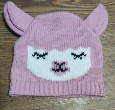 Charming Pink Handmade Women's/Teens Lamb Winter Soft Hat (Supports 🐐 Charity)