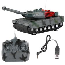 4 Kanäle RC Fernbedienung Panzer Tank Musik/Light Spielzeug Kampfpanzer USB