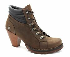 Neosens UK 6 (EU 39) Chelva S230 marron chocolat en cuir bottines à talon haut