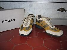 &&& CHAUSSURES SNEAKERS HOGAN T F 40 I 39 UK 6,5 US 8 NEUF
