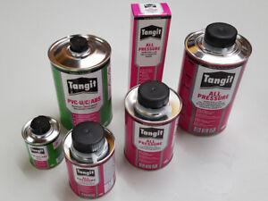 Tangit Auswahl, PVC-U Kleber oder Reiniger für PVC Rohr Schlauch Fitting Pool