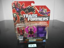 TRANSFORMERS GENERATIONS FALL OF CYBERTRON FRENZY & RATBAT 01 SERIES #002 19-2