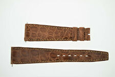 OMEGA NOS Vintage Leather Watch Strap Brown 20/14 20mm (B200)