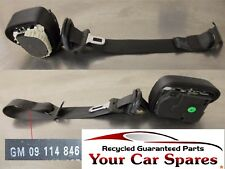 Vauxhall Corsa C Seat Belt Driver Side Rear 5dr 09114846