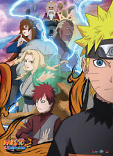 Naruto Shippuuden Group Allies Wall Scroll Poster Anime Manga NEW