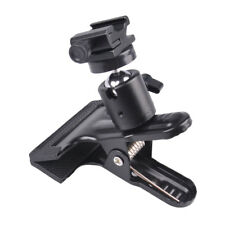 """Zuma 3"""" Spring Clamp with Metal Ball Head with Cold Shoe Mount"""