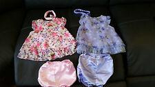EUC Girls Easter Lot 2 Pink Little Lindsey Adorable Floral Dresses Size 24 Mth