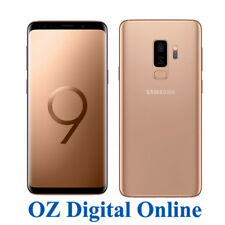"NEW Samsung Galaxy S9+ Plus Dual Sim G965FD 128GB Gold 12MP 4G 6.2"" Unlocked"